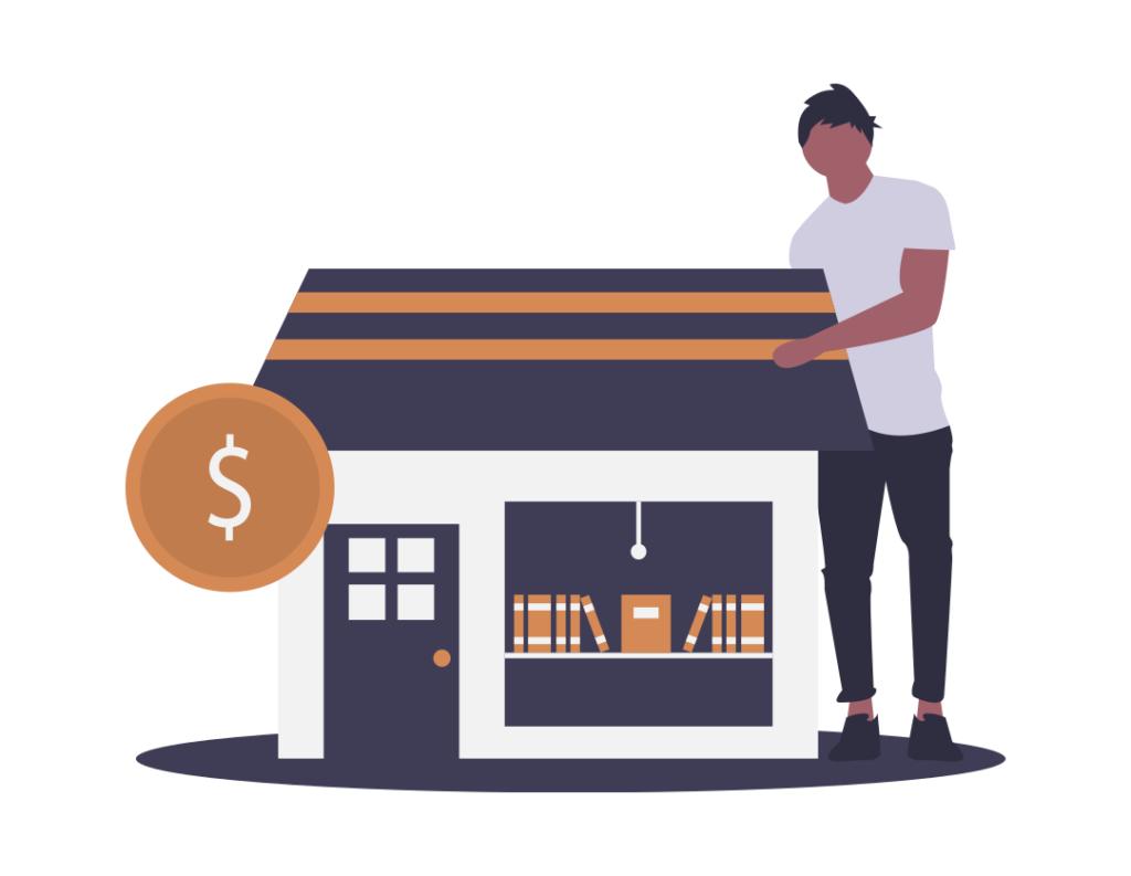 Darstellung eines Shops